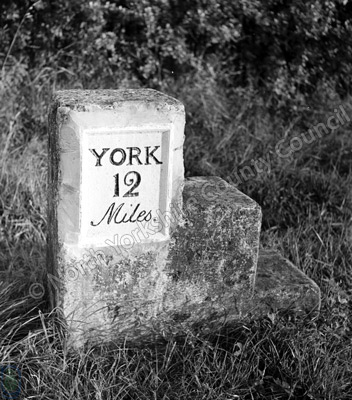 Milestone, York, Bridlington Road